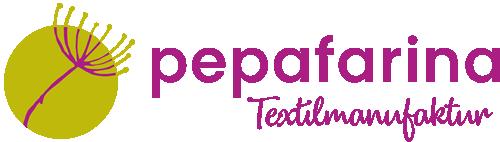 pepafarina - textilmanufaktur-Logo